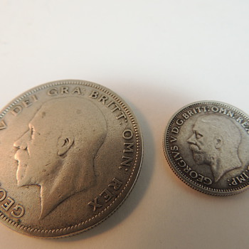 British Coins 1930&#039;s