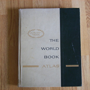 The World Book Atlas  - Books