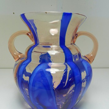 Kralik Art Glass Vase