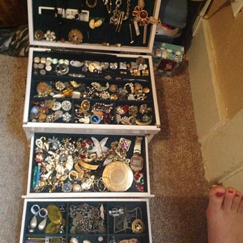 Junk Drawer of Jewelry