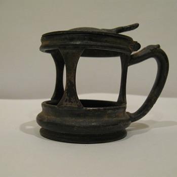 Silver Plated Reed & Barton Mustard Jar (circa 1898)