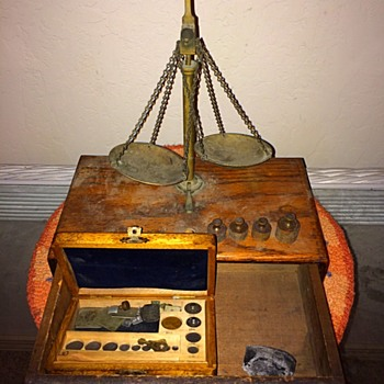 My Grandfather's Jewelry Scale - Circa 1910-1940