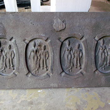Original mold for sand casting a humorous ashtray