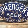 Sprenger's Beer Porcelain Sign