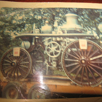 Old Steam Engine.............. - Photographs