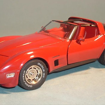 1982 Franklin Mint Red Chevrolet Corvette