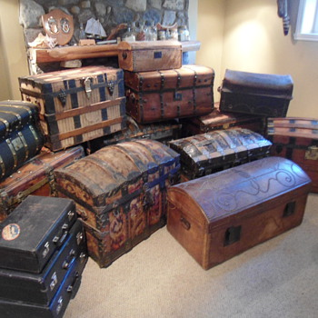 My Basement Trunk Collection