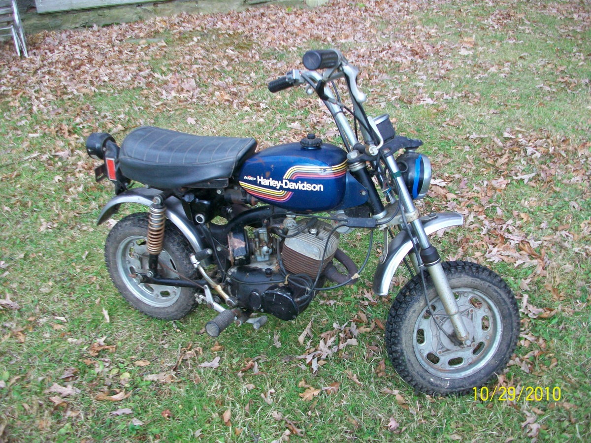 1975 Harley Davidson X - 90 Mini Bike : Collectors Weekly