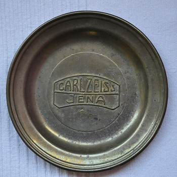 CARL ZEISS JENA PLATE