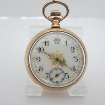 N.E. W. Co. Ladies Pocket Watch - Pocket Watches