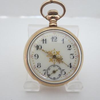 N.E. W. Co. Ladies Pocket Watch
