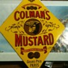 Vintage Enamel COLMAN'S MUSTARD sign 1977.