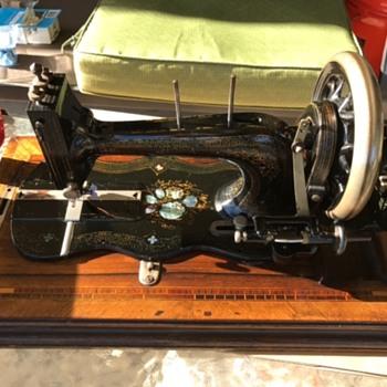 Estate Sale Antique Sewing Maching find