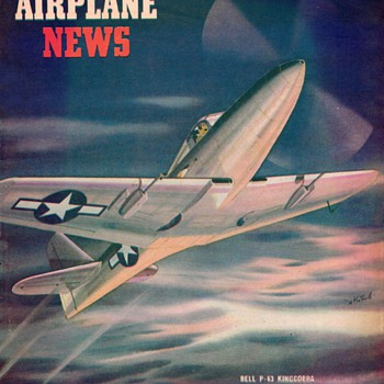 "1945 - ""Model Airplane News"" Magazine (March) - Paper"