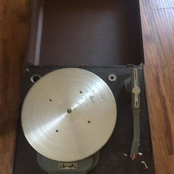 "Rek-o-kut 16"" transcription turntable with Clarkstan tonearm--what is this thing???"
