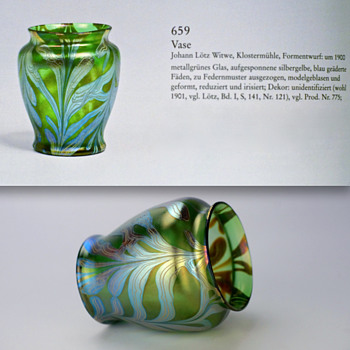 Loetz Phanomen Vase c. 1900 - Art Glass