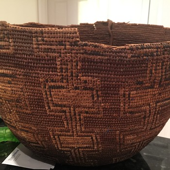 My favorite mystery basket - Native American