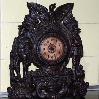 Patriot Bronze Mantel Clock - Clocks