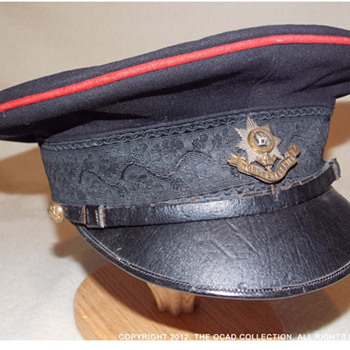 First World War Officer's Forage Cap. - Military and Wartime
