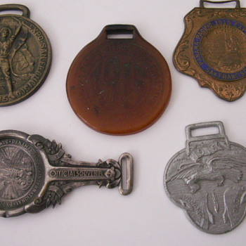 More 1915 Panama Pacific Fobs - Pocket Watches