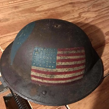 WW1 77th Infantry Helmet