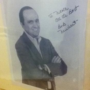 Autographed Bob Newhart Still