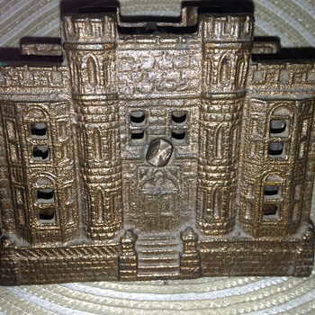 Brass Still Bank