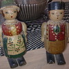 walking wooden dolls