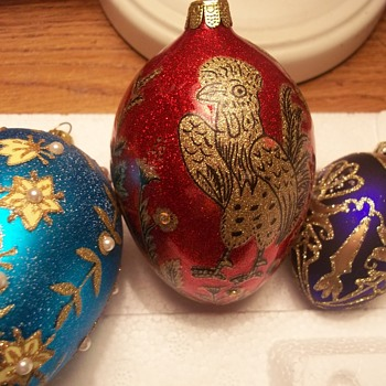 EVEN MORE OF MY SPECIAL CHRISTMAS TREE ORNAMENTS - Christmas