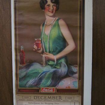 1929 Coca Cola Calendar - Coca-Cola