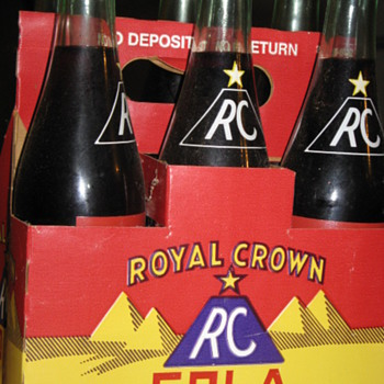 Unopened RC Cola Six Pack - Bottles