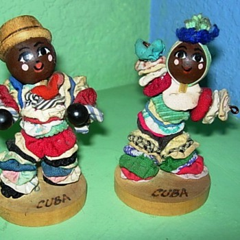 Little Cuban dancers - Dolls