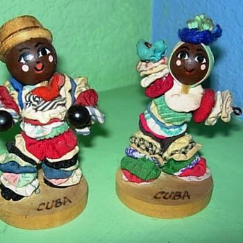 Little Cuban dancers - Dolls