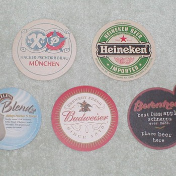 Bar / Beer Coasters - Breweriana