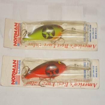 Texaco Fishing Lures - Fishing