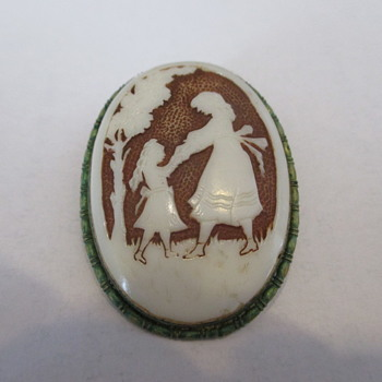 Cameo brooch - Fine Jewelry