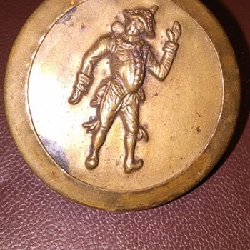 Interesting button or buckle
