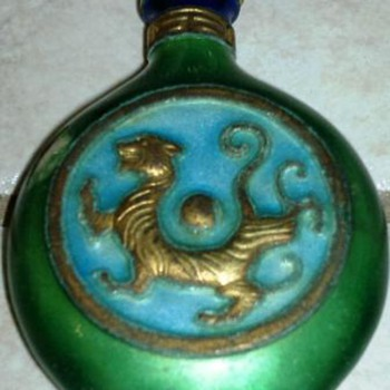 Asian Snuff Bottle - Asian