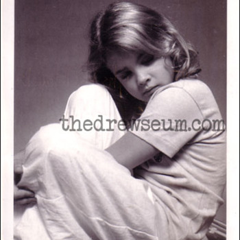 Drew Barrymore 1982 test polaroid