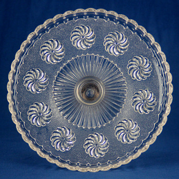 Roman Rosette by U.S. Glass Company c1896