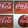 5 x 3 Coca Cola Signs (early 1930s?)