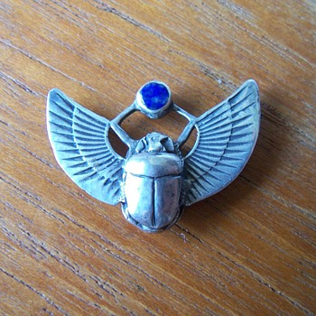 Scarab Beetle Pendant - Fine Jewelry