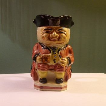"""Toby Mug"" from ""Occupied Japan"" - Art Pottery"