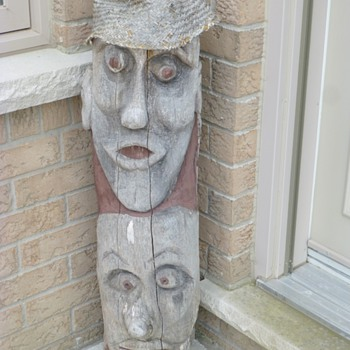 "Outdoor sculpture(s)"" Shock and Awe"" and"" Feeding time"" - Folk Art"