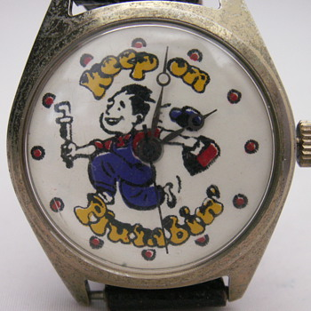 Keep on Plumbin' - Wristwatches