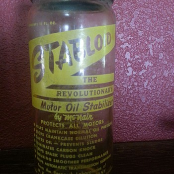STABLOID..the Revolutionary Motor Oil Stabilizer by McNair - Bottles