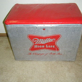 Vintage High Life Cooler