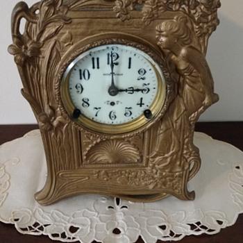 "Seth Thomas Clock ""Meditation"" - Clocks"
