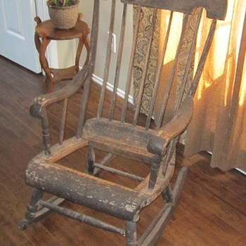 This old rocker - Furniture