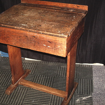 "OAK School Desk""Early XX Century"""